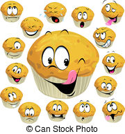 Muffin Illustrations and Clipart. 17,384 Muffin royalty free.