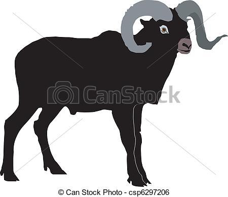 Mouflon Illustrations and Clip Art. 74 Mouflon royalty free.