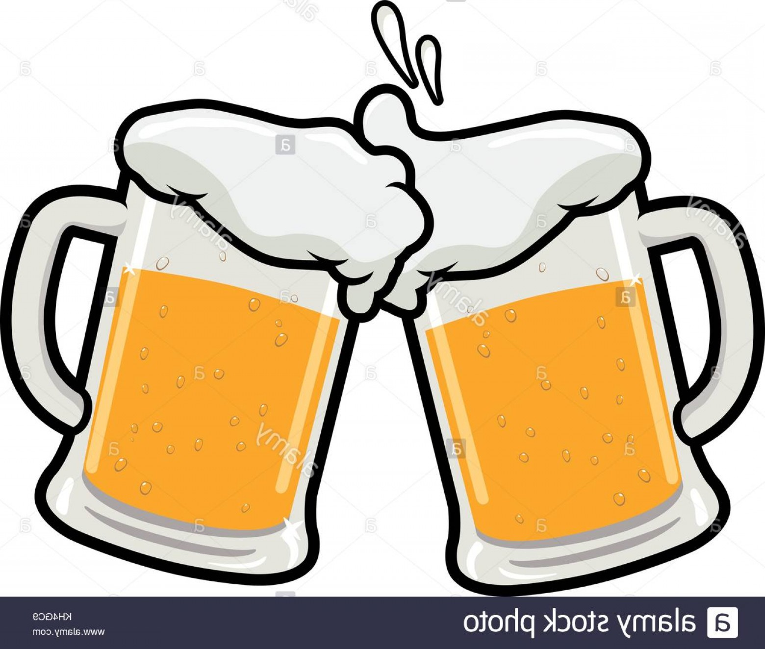 Beer Mug Vector Art.