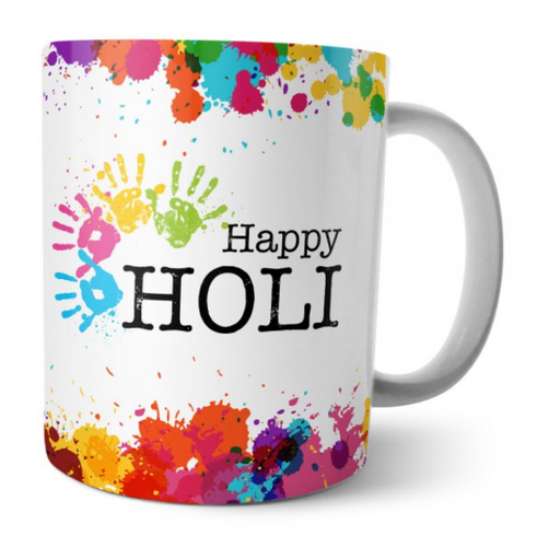 Happy Holi Festival Mug.