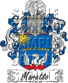 Muggia Family Crest apparel, Muggia Coat of Arms gifts.