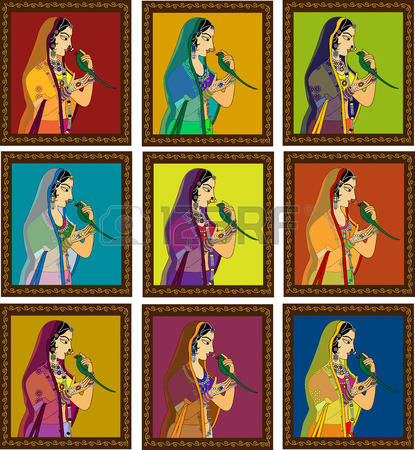 154 Mughal Art Cliparts, Stock Vector And Royalty Free Mughal Art.