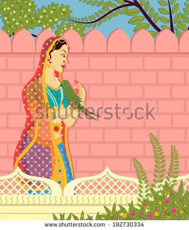 Mughal Garden Stock Vectors & Vector Clip Art.