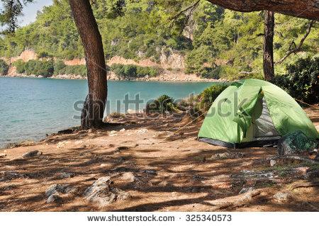 Campground Stock Vectors & Vector Clip Art.