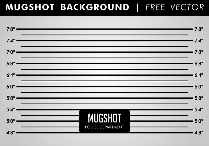 Mugshot Background Free Vector Art.