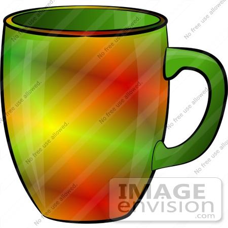 Colorful Coffee Mug Clipart.