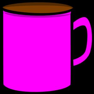 Pink Mug Clip Art at Clker.com.