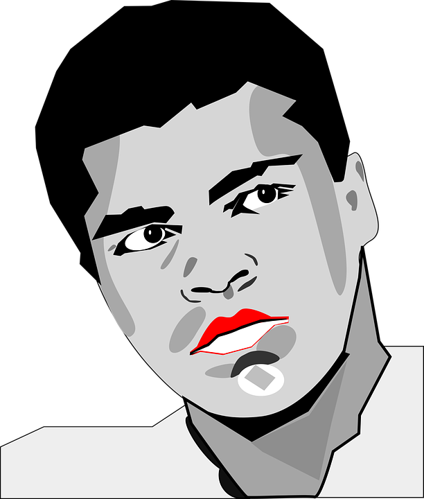 Free vector graphic: Heavy Weight, Mohammed Ali.