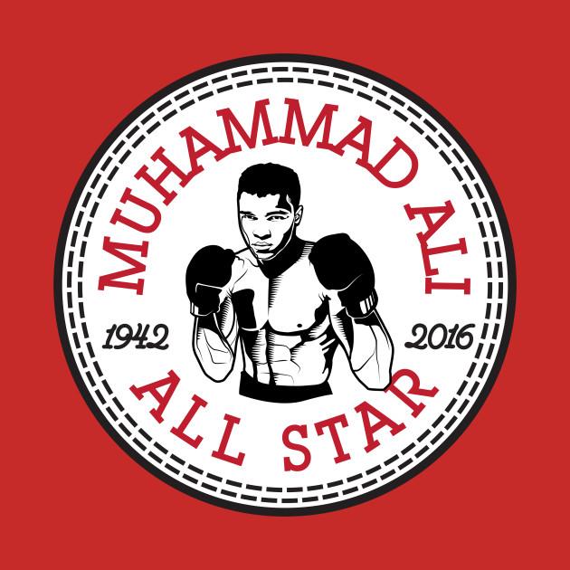 Muhammad Ali All Star Converse Logo by rebus28.