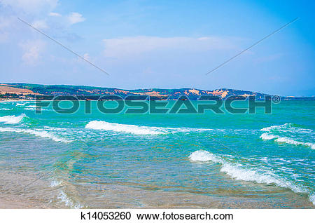 Stock Photography of Pure sea in Mui ne bay, Vietnam k14053260.