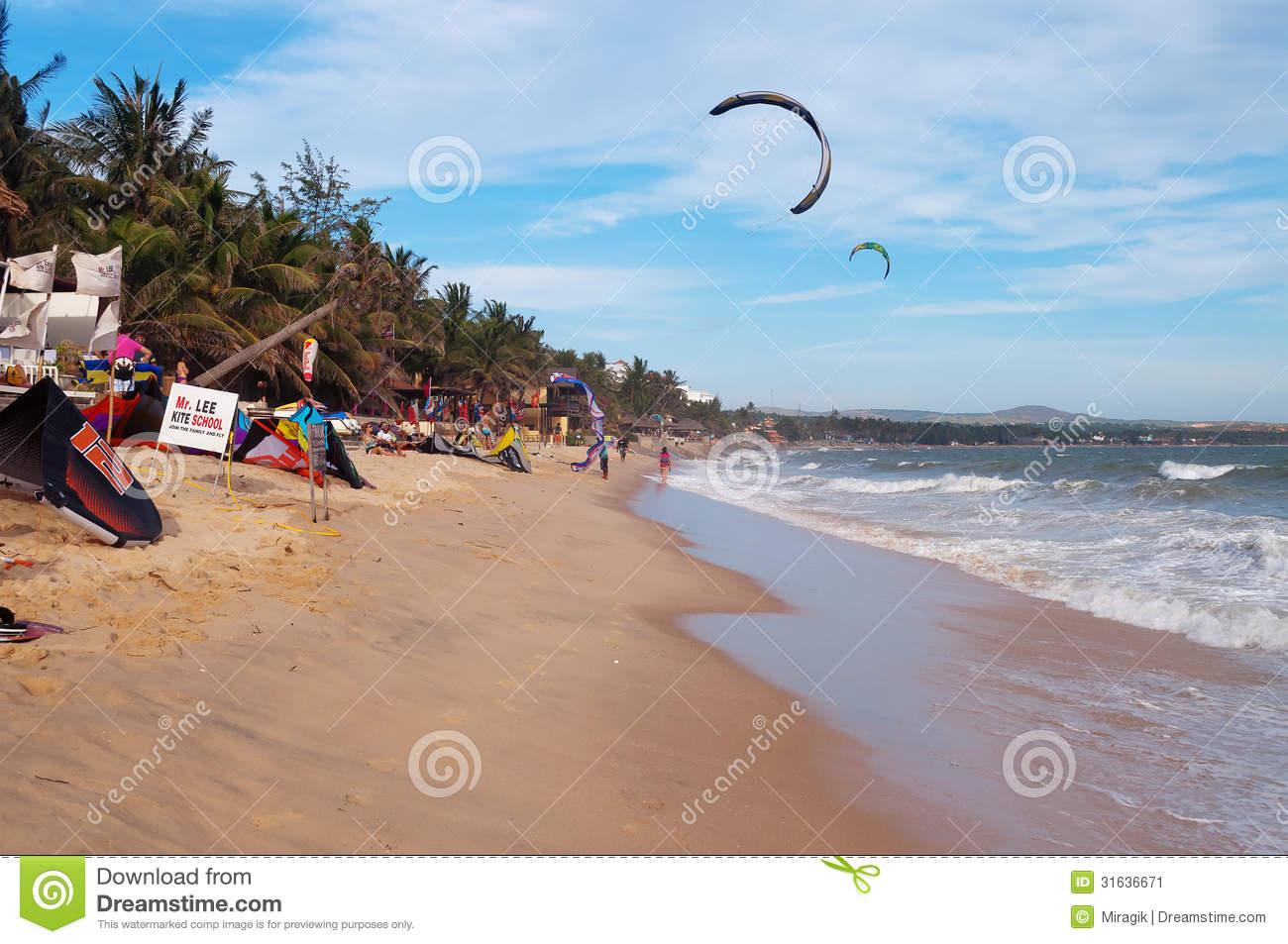 Mui Ne Beach. Vietnam Editorial Photo.