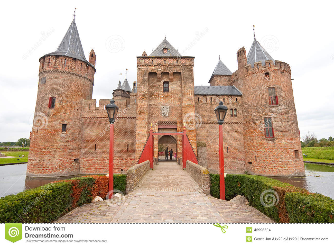 Muiderslot Castle Royalty Free Stock Image.