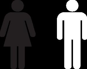 Hombre Y Mujer Icon Clip Art at Clker.com.