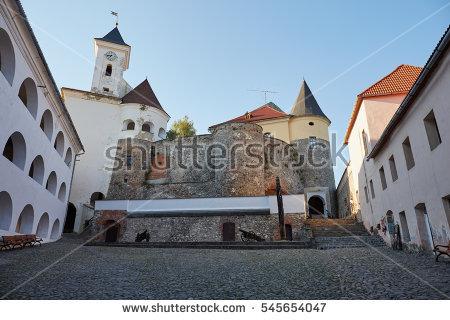 Mukachevo Castle Stock Photos, Royalty.