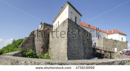 Mukachevo Castle Stock Photos, Royalty.