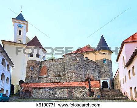 Stock Photography of Mukachevo castle view (Ukraine) k6190771.