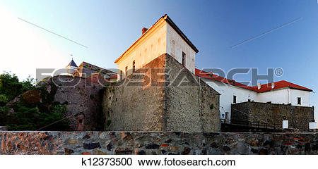 Stock Photography of castle of Polanok located in city of.