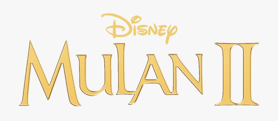 Mulan 2 Logo Png, Cliparts & Cartoons.