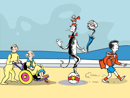 Gallery For > Dr. Seuss Mulberry Street Clipart.