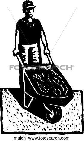 Clipart of Mulch mulch.