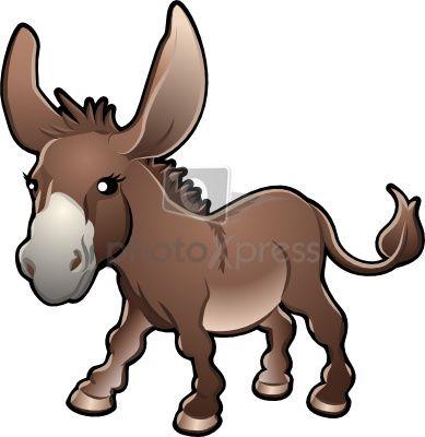 clip art donkey clip.