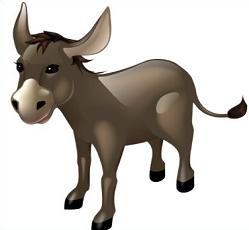 Free Mule Clipart.