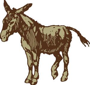 Donkey Clip Art at Clker.com.