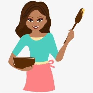 Cooking Clipart Lady Chef.