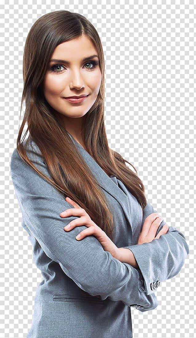 Woman wearing blazer, Businessperson Digital marketing.