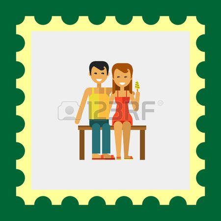 5,488 Couple Sitting Cliparts, Stock Vector And Royalty Free.