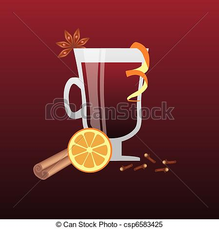 Mulled wine Clipart and Stock Illustrations. 595 Mulled wine.