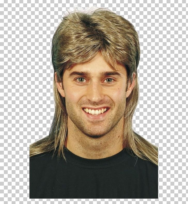 1980s Mullet Wig Blond Fashion PNG, Clipart, 1980s, Blond.