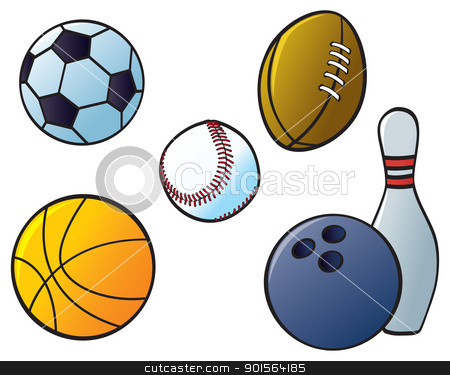 Multiple Sports Clipart.