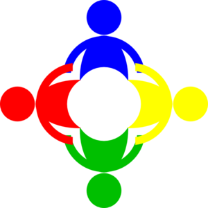 Community Circle Multi Color Clip Art at Clker.com.