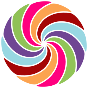 Pinwheel Multi Colored Clip Art at Clker.com.