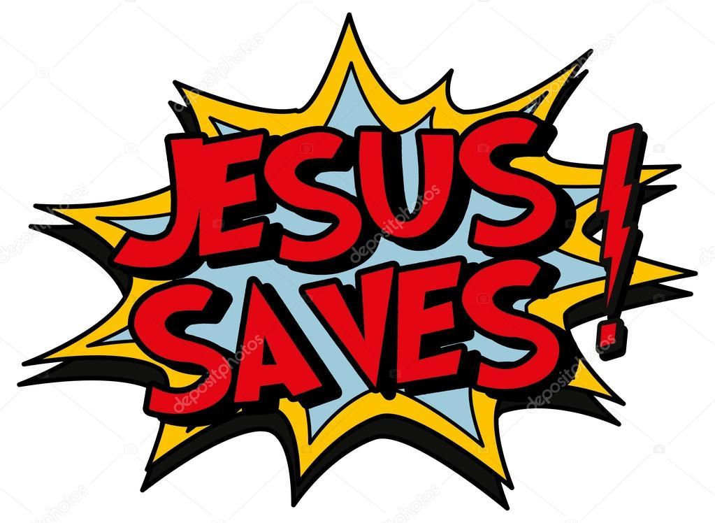 Jesus saves — Stock Vector © scotferdon #59015935.