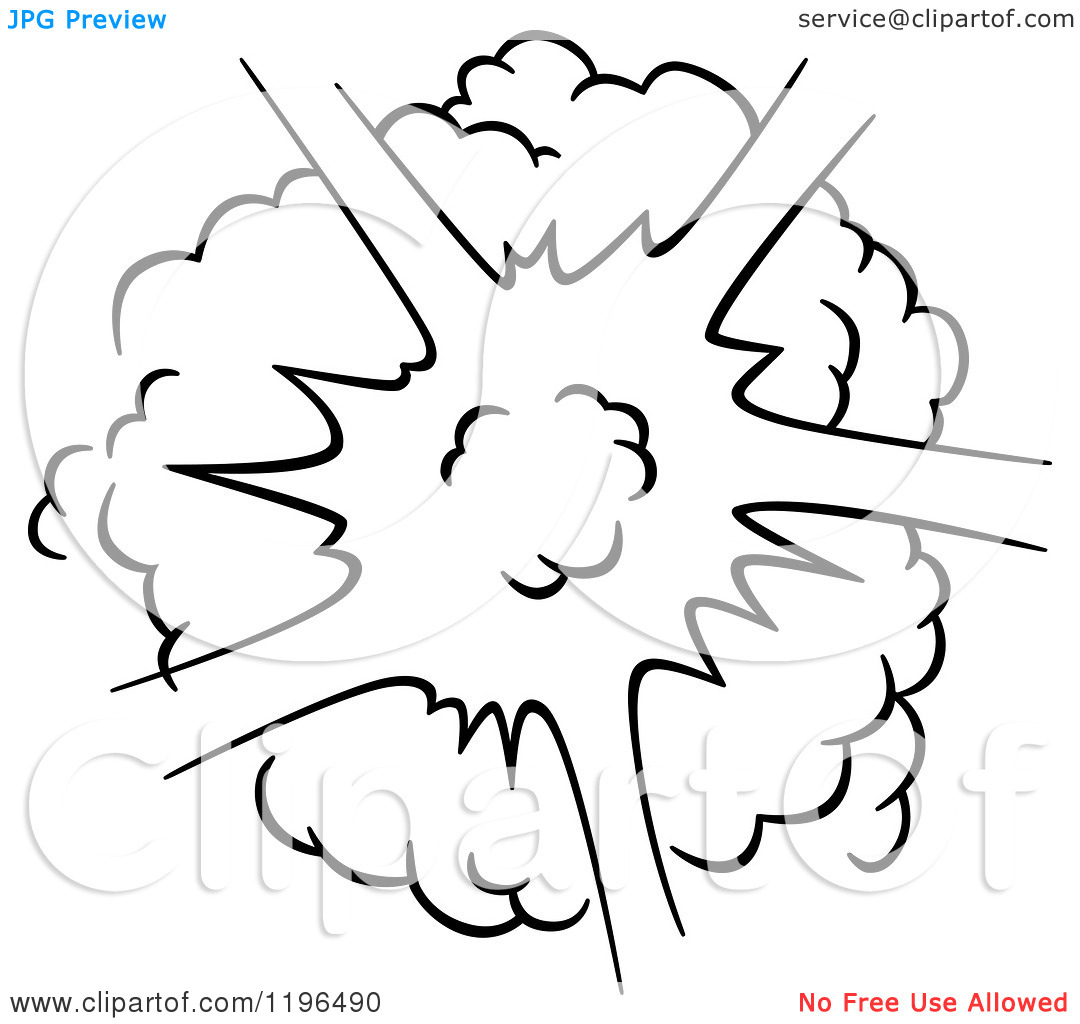 Color Explosion Coloring Page.