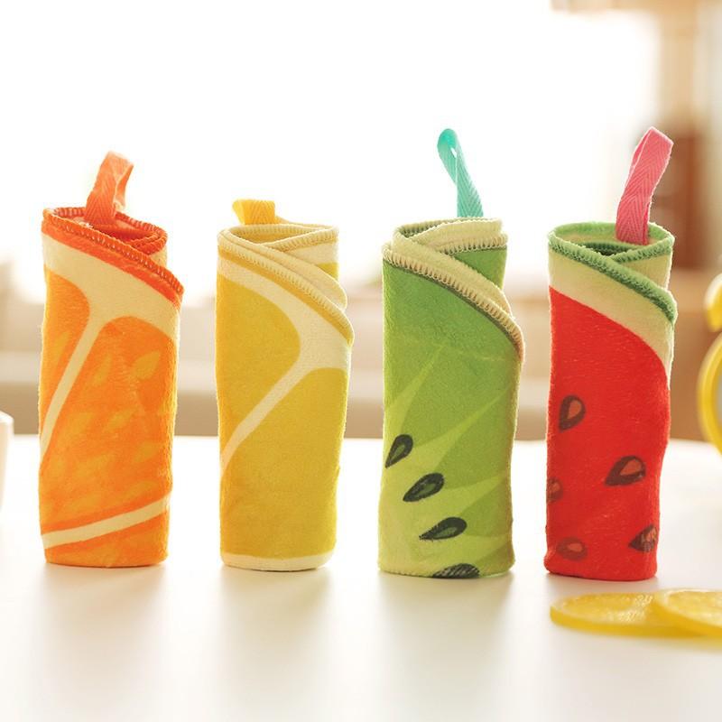 Aliexpress.com : Buy Fruit Hand Towel handkerchief Multifunction.