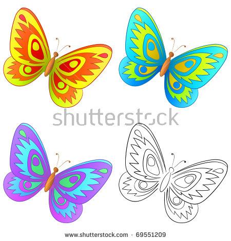 Butterfly, Set: Multi.