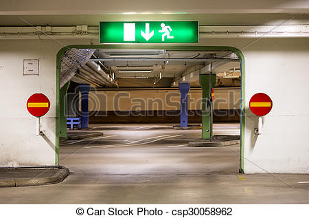 Stock Image of Portal in multi.