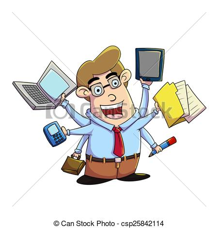Multitasking Clipart and Stock Illustrations. 5,858.