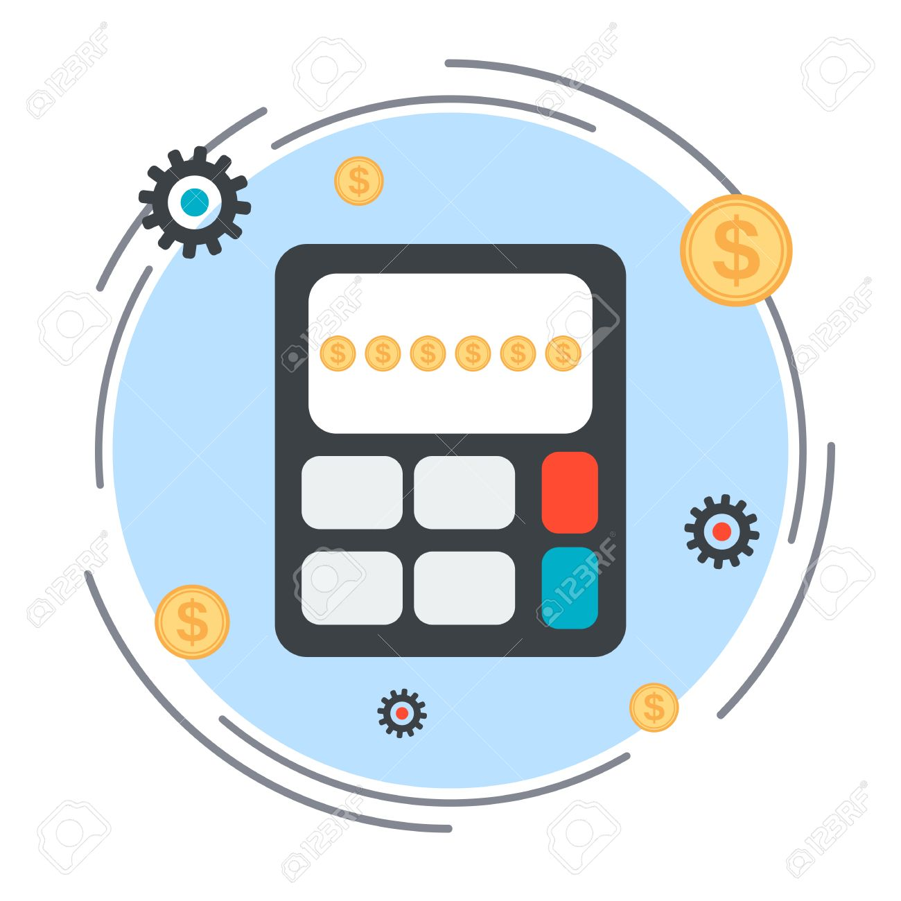 Budget Calculation, Financial Statistics, Profit Counting Vector.
