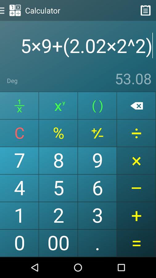 Multi Calculator.