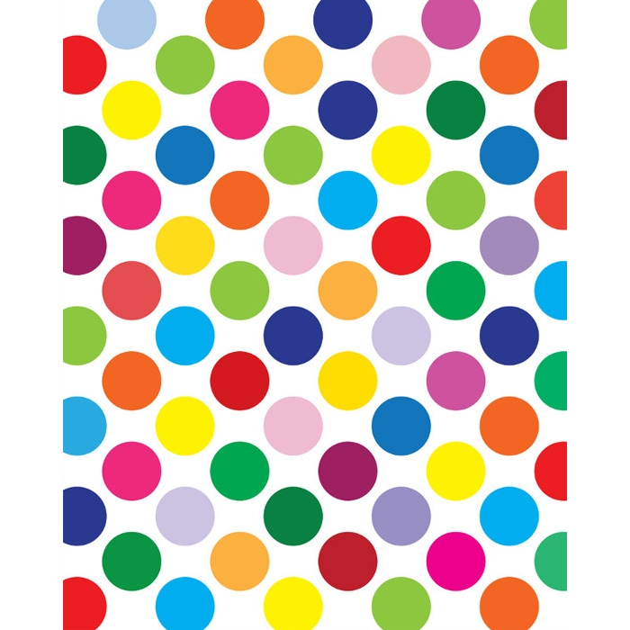 Clipart coloured dots.