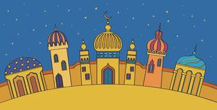 Arabic House Stock Illustrations.