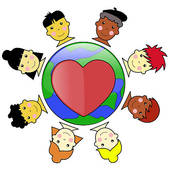 Multicultural Clipart.