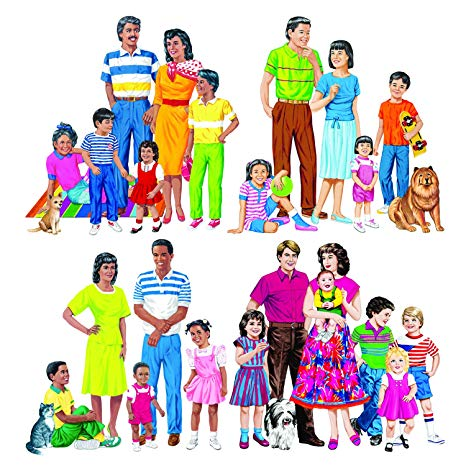 Amazon.com: Little Folk Visuals LFV22211 Multicultural.