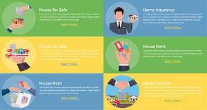 Modern Multifamily Residence Stock Illustrations.
