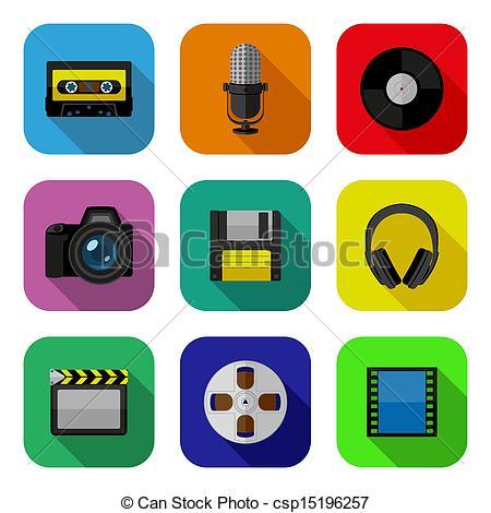 Clip Art Multimedia Design Clipart.