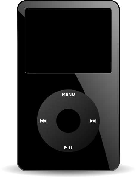 Ipod Media Player clip art Free Vector / 4Vector.